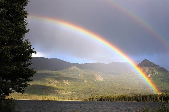 虹を見た時の恋愛の意味やスピリチュアルメッセージ